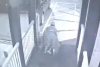 Momentul în care un fost sportiv a atacat o fată de 17 ani, vrând să o violeze. VIDEO