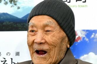Cel mai bătrân om din lume a murit în somn. Câți ani avea japonezul