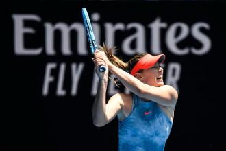 """Şarapova, huiduită de public la Australian Open. Reacția ei: """"E o întrebare prostească"""""""