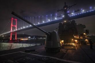 """SUA au trimis un distrugător în Marea Neagră pentru """"sprijinul aliaților"""". Răspunsul Rusiei"""