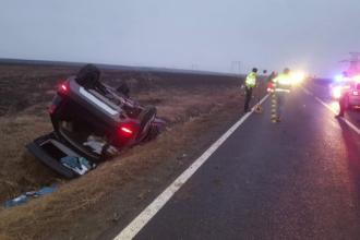 Prima măsură luată după accidentul cu doi morți provocat de un șofer băut