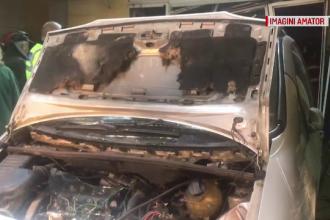 Martorii îl contrazic pe șoferul băut care a intrat cu mașina în spital. A fost reținut