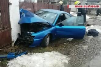 Fără să aibă permis de conducere, s-a urcat la volan, cu 2 pasageri în mașină