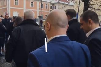Codrin Ştefănescu și Eugen Nicolicea, huiduiţi la PSD Sibiu: