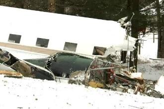 Un avion cu 6 oameni la bord s-a prăbușit în Ohio. Doi au murit