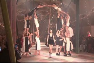 Noua colecţie Dior, inspirată de lumea circului, a fost prezentată la Paris