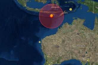 Patru cutremure au lovit sudul Indoneziei. Cel mai puternic a avut 6,4 pe Richter