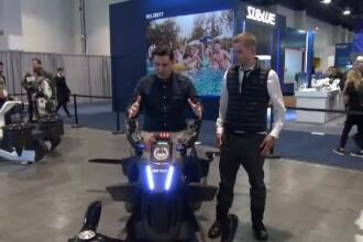"""iLikeIT. George Buhnici s-a urcat pe prima """"motocicletă zburătoare"""" din lume"""