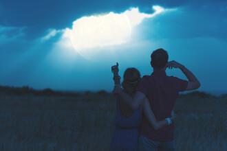 Un cuplu a ajuns la spital, din cauza unui polițist, în timpul eclipsei de lună