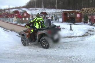 Distracția cu ATV-urile, coșmar pentru localnicii din Moeciu. Turiștii lasă prăpăd în urmă
