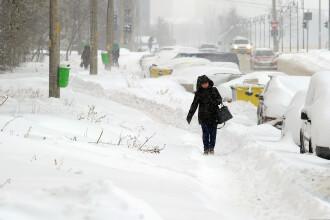 Avertizare ANM. Cod galben de ninsori, viscol, lapoviță și ploi pentru jumătate din ţară
