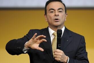 Carlos Ghosn a demisionat din funcţia de preşedinte director general al Renault