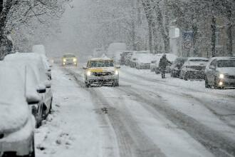 Vreme severă în toată țara. Zonele în care se vor întoarce ninsorile și viscolul