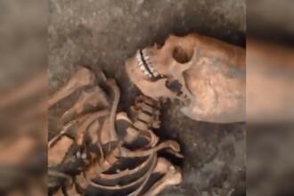 Descoperire bizară în Rusia. Cum arată craniul unei femei moarte în urmă cu foarte mulţi ani. FOTO
