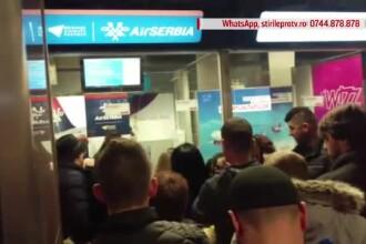Nemulţumiri şi probleme în aeroporturi, gări şi trafic. Haosul creat de ploaia îngheţată