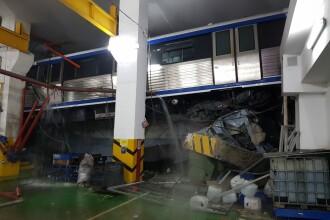 """Raportul privind """"metroul zburător"""" din Depoul Berceni, finalizat. Cine este de vină pentru accident"""