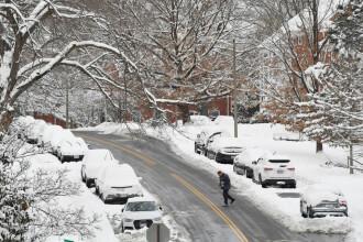 """Temperaturi de -50 de grade în SUA. Avertisment pentru populație: """"Nu ieșiți din casă"""""""
