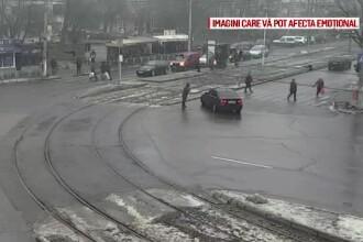 Un șofer din Galați a sărit să bată un pieton, dar a comis o mare greșeală. Ce a pățit
