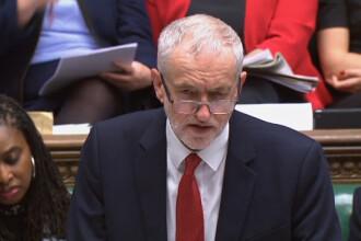 Laburiștii negociază căderea guvernului Boris Johnson, pentru a contracara un Brexit dur