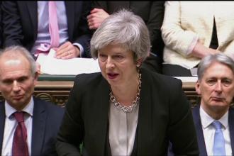 Theresa May vrea să renegocieze cu UE tratatul privind Brexitul