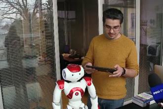 Robotul care ajută copiii cu autism, inventat la Cluj. Proiectele cercetătorilor români