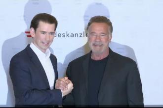 Arnold Schwarzenegger va promova summitul pentru climă din Viena