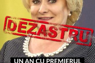 """""""Adevăratul bilanț"""". PNL a realizat un clip video cu toate gafele premierului Dăncilă"""