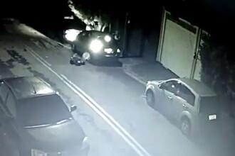 Ce a pățit un hoț în timp ce încerca să spargă mașina unui preot protestant. VIDEO