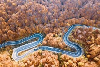 Un român i-a uluit pe englezi. Fotografiile spectaculoase surprinse din dronă, în Transilvania