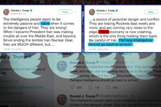 Șefii serviciilor de informaţii americane îl contrazic pe Donald Trump.