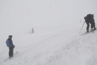 Zăpadă de peste 2,5 m la Bâlea Lac. Risc de avalanșe în masivul Făgăraș