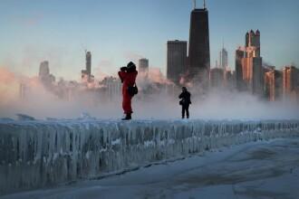 Vortexul polar a adus ger năprasnic în SUA. Mărturii de la români stabiliți în Chicago