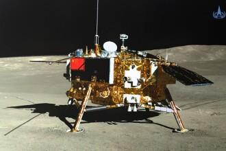 Sonda Chang'e 4 s-a trezit din hibernare. Date surprinzătoare transmise de pe Lună