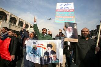 Înmormântarea lui Soleimani a fost amânată, după ce 35 de persoane au murit