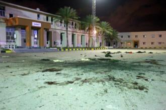 Masacru în Tripoli, după un raid aerian al rebelilor mareşalului Haftar