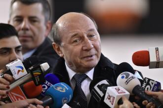 Băsescu: În România nu e vid legislativ, e vid de oameni care știu carte