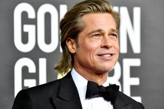 Ce glumă a făcut Brad Pitt pe scenă, la Globurile de Aur, în timp ce Jennifer Aniston era în public