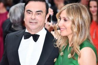 Ce a păţit soţia celui mai faimos evadat din lume, Carlos Ghosn, fostul şef Renault-Nissan