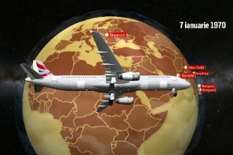 Tarom serbează 50 de ani de la primul zbor în care un avion a făcut înconjurul lumii