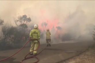 Fumul provocat de incendiile din Australia face înconjurul lumii. A ajuns deja până în Chile