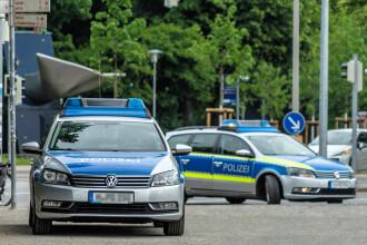 Trei polițiști din Germania, răniți după ce au încercat să oprească petrecerea unor români