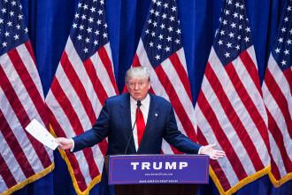 """Trump, prima reacție oficială după atacul din partea Teheranului: """"Iranul nu va fi lăsat să aibă o armă nucleară"""""""