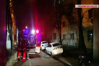 Incendiu într-un apartament din Galați, după ce o instalație a luat foc în bradul de Crăciun