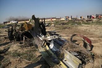 Avionul prăbușit în Iran a luat foc în aer. Noi detalii din anchetă
