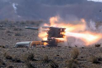 Alertă în Irak. O rachetă a căzut lângă o bază militară cu soldați americani