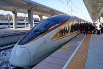 China a lansat cel mai rapid tren fără pilot din lume. În cât timp ar parcurge distanţa Bucureşti-Braşov