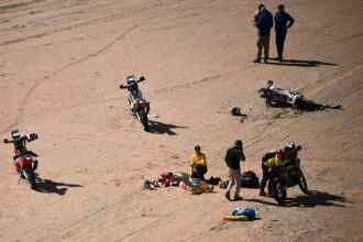 Un motociclist experimentat a murit în timpul raliului Dakar, după o căzătură violentă