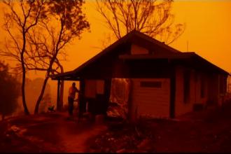 Ce s-a întâmplat cu australianul care a făcut pariu că locuința sa va rezista în fața incendiilor