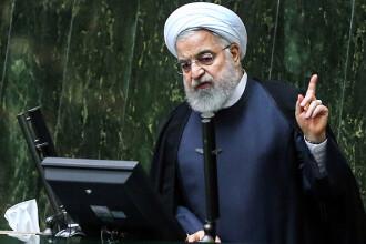 """Preşedintele Rouhani şi ministrul de externe Zarif resping ideea unui """"acord Trump"""" în dosarul nuclear"""