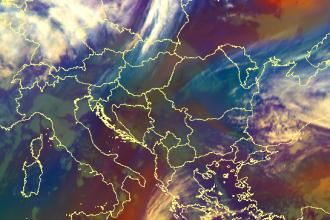 Cod portocaliu de vânt puternic în mai multe localități din țară. Până când este valabil